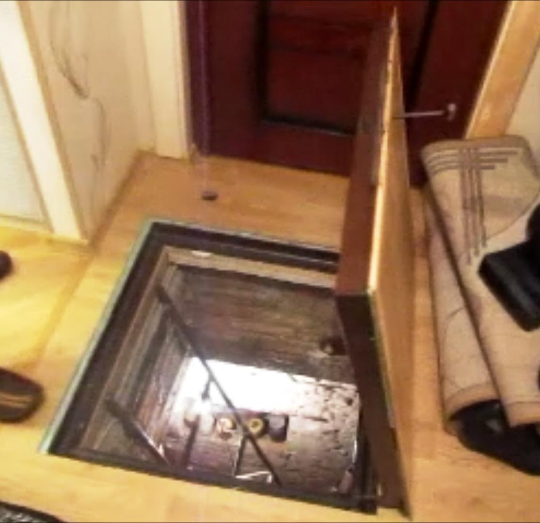 Люк на пол под плитку